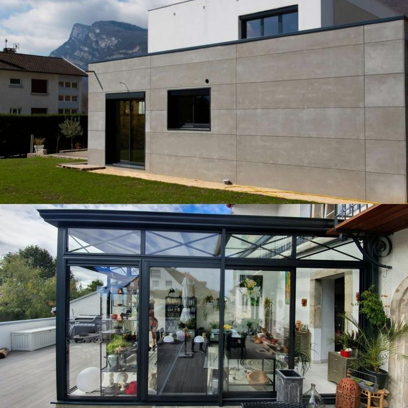 difference entre extension et veranda