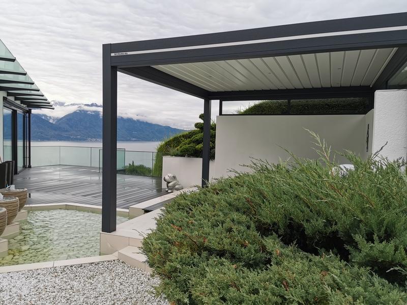 Pergola Bioclimatique à Montreux : Confort en Toutes Saisons
