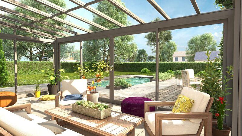 Véranda Atelier : un Jardin D'Hiver Ré-Créatif