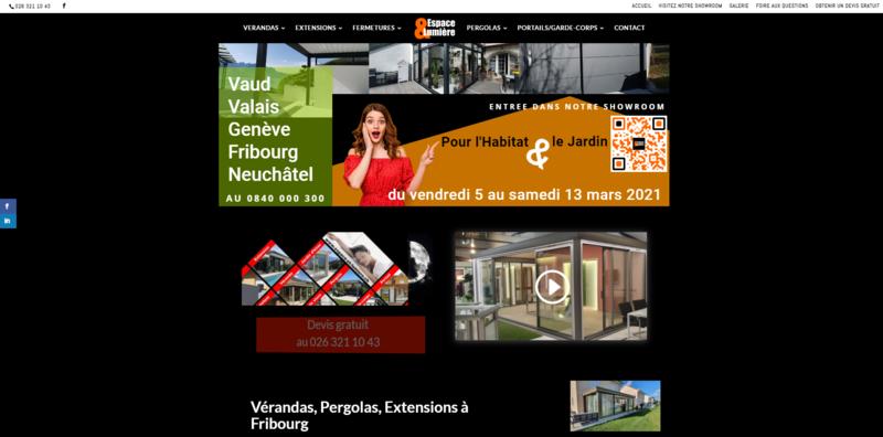 Canton de Fribourg : Nouveau Site Internet
